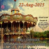 D.H.C presents : KLANK CARROUSEL 22.08.15'  ( mixed by JOKA )