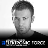 Elektronic Force Podcast 112 with Mladen Tomic
