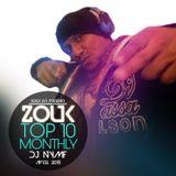 April 2015, Brazilian Zouk Top 10, Dj Nymf
