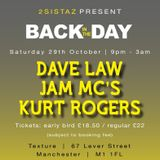 Dave Law Hacienda Friends Reunion Part 3, 29th October 2016 Texture Manchester.