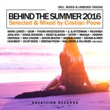 Cristian Poow pres. Behind The Summer 2016 // Best of Deep House & Nu Disco