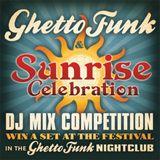 Sunrise Festival mix for Ghettofunk.co.uk