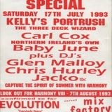 Carl Cox - Harmony Summer Special 17/7/93 - Side A