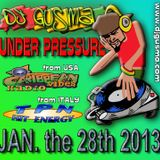 UNDER PRESSURE Reggae Radio Show, January the 28th 2013