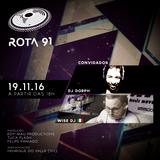 Rota 91 - 19/11/2016 - convidados - Dorph e Wise DJ (Itália)
