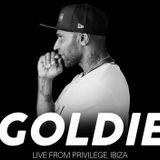 Creamfields Ibiza 2017 - 02 - Goldie (Metalheadz) @ R2, Privilege - Ibiza (05.08.2017)