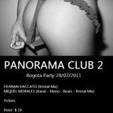 Miquel Morales -  Panorama Club ll Bogota  28/07/2011