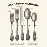 First lesson in manners