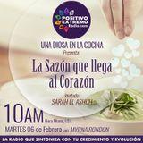 UNA DIOSA EN LA COCINA   02-06-2018  LA SAZON QUE LLEGA AL CORAZON INVITADA SARAH EL ASHUH