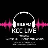 KCC Live - Radio Guest Mix 30.04.2016 - Benjamin Wynn DJ (Original Audio File)