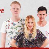 Robin De la Rue bij (Dance Met) Brent aan de telefoon over haar eerste single met Funktastix!