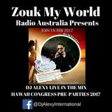 DJ Alexy Live @ District Night Club - The best of the Hawaii pre-parties for Zouk My World Radio
