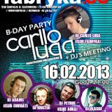 CARLLO LUQA DJ - B-Day Promo Mix 2.13 [Electro-House+Dance]