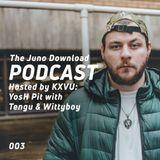 Juno Download Podcast - YosH Pit With Tengu & Wittyboy