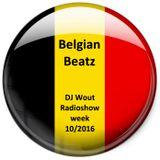 "DJ Wout Radioshow week 10/2016 ""Belgian Beatz"""