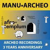 Manu•Archeo @ Afro Templum (Perugia) - Archeo Recordings 3 Years Anniversary! (27.09.2017)