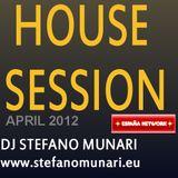 HOUSE SET - APRIL 2012 - DJ STEFANO MUNARI