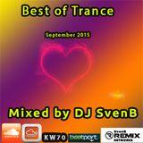 Best of Trance September 2015- by DJ SvenB *amazing*