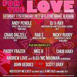 Rab S - Bac2Basics For The Love Live @ Classic Grand Glasgow 11/2/17