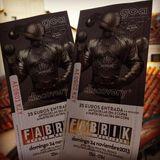 Karlos Sense @ GOA 19 Anniversary - Fabrik Madrid (24-11-2013)
