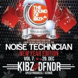 Kibz & Dfndr Live @ TSOI Noise Technician VOL. 7 - New Year Edition 29.12.2012