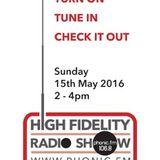 HiFidelity Radioshow , Phonic FM15.05.2016