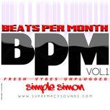 BPM Vol 01 (FRESH VYBES UNPLUGGED)