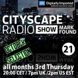 Mark Found - Cityscape Radio Show 21 October 2016
