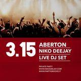 ABERTON - Niko Deejay - Live@ Private Party - March 2015 - Copenaghen