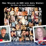 Mike Williams on RBN with Anita Whitney - Pop Music and Social Engineering