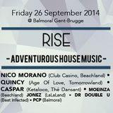 dj PCP @ Balmoral - Rise 26-09-2014