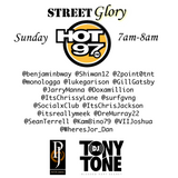 Street Glory on Hot 97 1.1.17 (New Years Day)