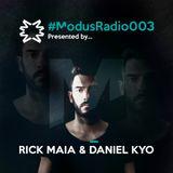 #ModusRadio003 - Daniel Kyo