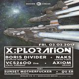 DMX Crew (Live PA) @ X:Ploration - Suicide Circus Berlin - 03.03.2017