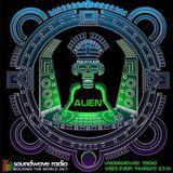 Alien is back - Underground Tekno Vibes radio show, live on Soundwaveradio 22/10/2k15