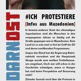 Protestbewegung in Mazedonien