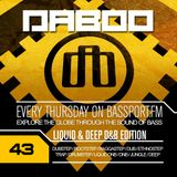 BASS TREK 43 with DJ Daboo on bassport.FM