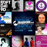 DEEPINSIDE RADIO SHOW 009 (Quantize Recordings Label of the week)