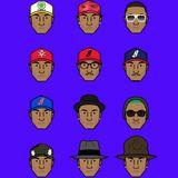 Faces of Pharrell