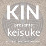 Kin w/ Keisuke - 9th January 2018
