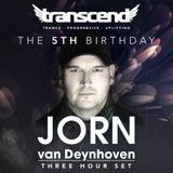 Jorn Van Deynhoven - 3 Hour LIVE Set From London UK (Transcend 21 - 10 - 2017)