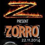 Zorro - live @ Mangan Rules, 22.11.2014.