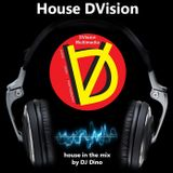 DJ Dino - House DVision  #1 (live mix)