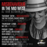 "DJ MISBEHAVIOUR W J MOORE LIVE @ 'TAKE THAT TUESDAYS"" MID WEST TOUR"