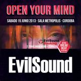 EvilSound - Open Your Mind (15-06-2013)
