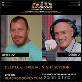 DEEP LUV Radio - Keef Luv B2b with Derek D part 2