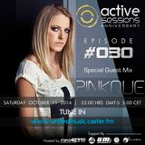 Pinkque Guest Mix Active Sessions Episode #030 Anniversary