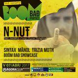 N-NUT @ BOOM BAD PARTIES (Agora Club)