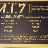 DJ Rexx Arkana - MI7 - January 14, 2000 - Side A