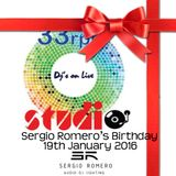 Sergio Romero's Birthday /Totally Eigthies